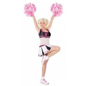 Playboy Cheerleader Costume - Size S